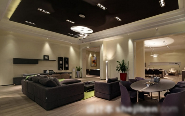 Case of modern home lighting